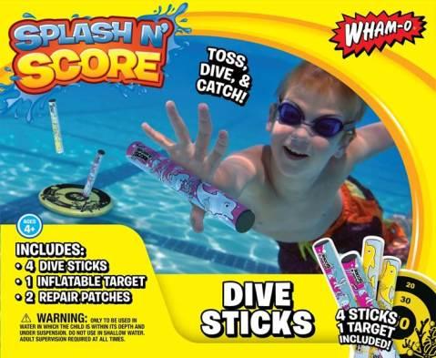 Dive-Sticks-Target-Game